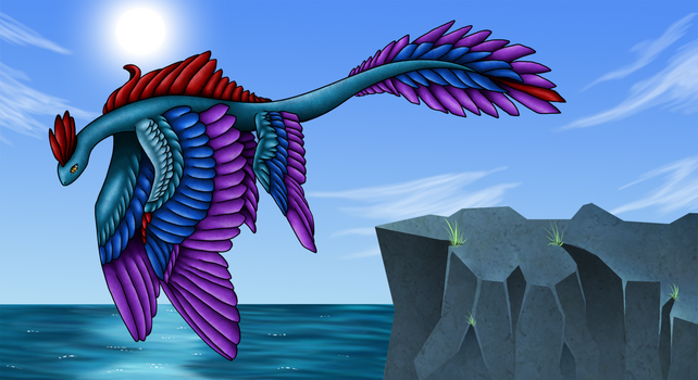 Rainbow Wings by Myklor