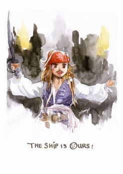 the Ship is Ours by amoykid