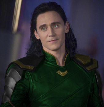 Loki with green costume by palefire73