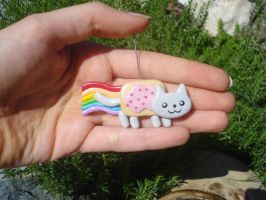 Nyan Cat Charm by Wendyland