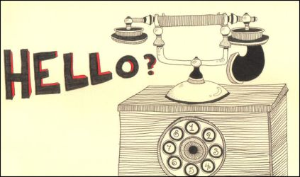 telephone by thunderboltjackson