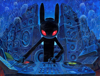 DJ Black Rabbit by jasinski