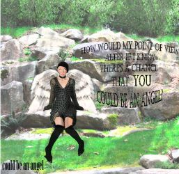 Annie Lennox: could be an angel by Meebi