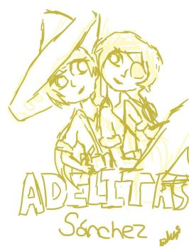 Adelitas Sanchez-sketch by isabellafan4ever