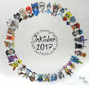 INKTOBER - Circle complete by SharpTone