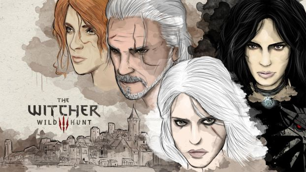The Witcher 3: Wild hunt by LordDanminator
