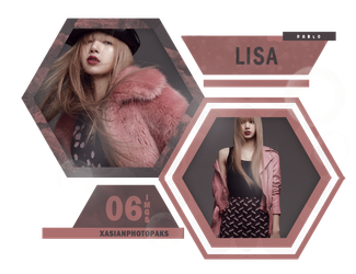 Photopack 4943 // Lisa (BLACKPINK) by xAsianPhotopacks