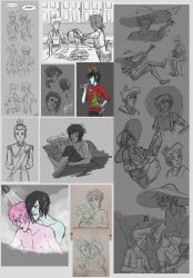 Tumblr Sketch Dump 1 by Hootsweets