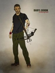 Daryl Dixon: Redesign by IronWarrior777