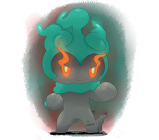 Marshadow combat-form