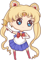 Mini chibi example: Sailor Moon by x--lalla--x