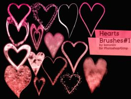 Heart Brushes part 1 by kanonliv