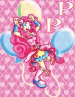 MLP: Magical Pinkie Pie by Lrme87