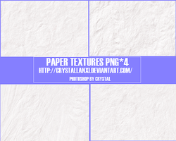 paper textures png*4 by Crystallanxi