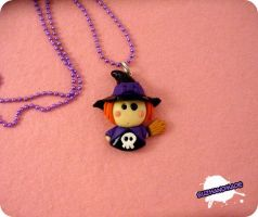 FIMO - Little Witch by buzhandmade