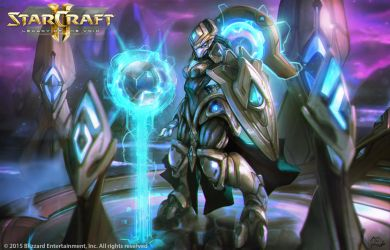 StarCraft 2 Adept Paint by moofart-moof
