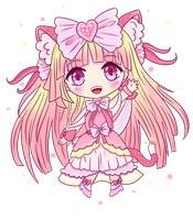 Chibi With Warm Colors by noorin