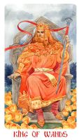 King Of Wands by Losenko