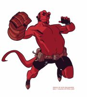 Hellboy Collab2 by ryancody