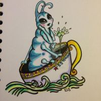 The S.S Teacup by BlossomBrooks