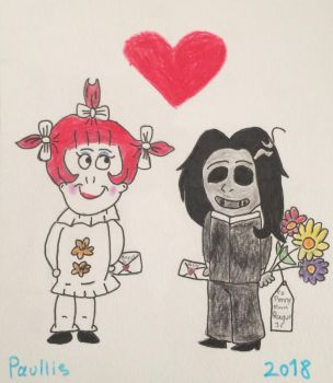 Penny and Bagul Jr. by paullies