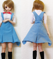 Evangelion School Uniform for DDdy by animagic4u