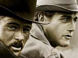 Butch and Sundance by ellastasia