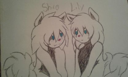 Shiro and Lily by JesCruzin
