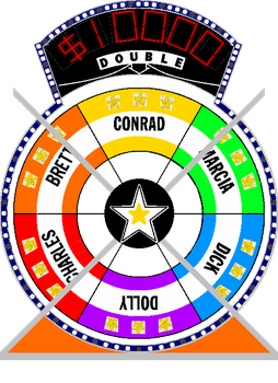 Star Wheel #5 $10,000 by mrentertainment