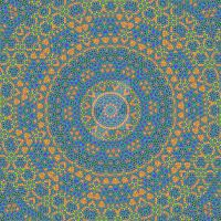 Electric Blue Mandala by SamSpruce