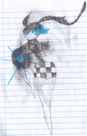 Black Rock Shooter fanart (even older) by MSTieMiss
