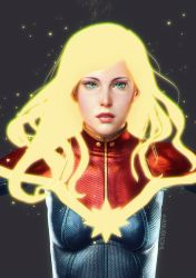 ID Captain marvel by AnubisDHL