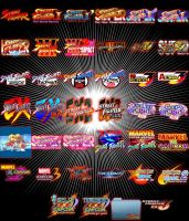 Street Fighter Mame Dock Icons by Catw