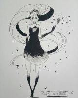 inktober day 12 by JuShyArt