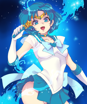 Sailor Mercury! by MeowYin