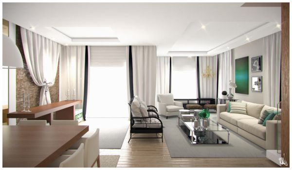 Integrated Living Room by DaCone