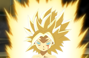Super Saiyan Caulifla by EverlastingDarkness5