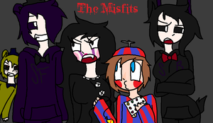 The FNaF 2 Misfits! by Willowclaw111