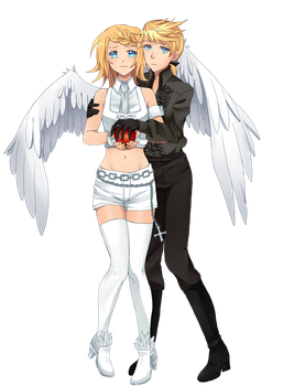 100 Kagamine Collab 2016: Secret ~Black Vow~ by TamashiineKasuka