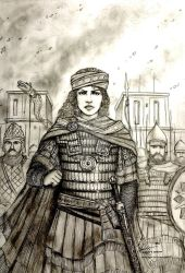 Zenobia of Palmyra, 273 AD - Women War Queens by Gambargin