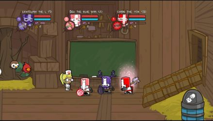 Castle crashers rangers by BluethornWolf