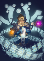 Prayer of Chancus - Hearthstone by Schoyhan