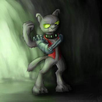Diamond dog. by rule1of1coldfire