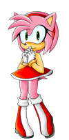 Amy Rose by KayeilE