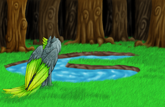 Magical Forest by QingFey