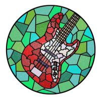 Stained Glass Bass by archangylion
