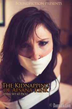 The Kidnapping of Afsana Kink Photo set by Boundfiction