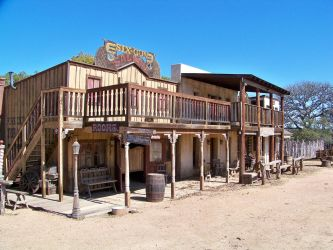 31 wild west town by dragon-orb