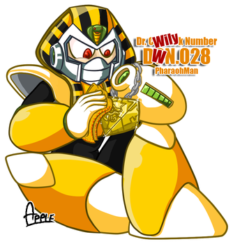 DWN28 Pharaohman by ApplesRockXP
