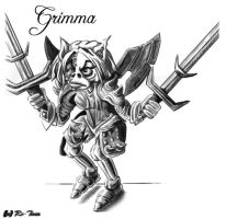 Grimma Sketch by Ro-Tine